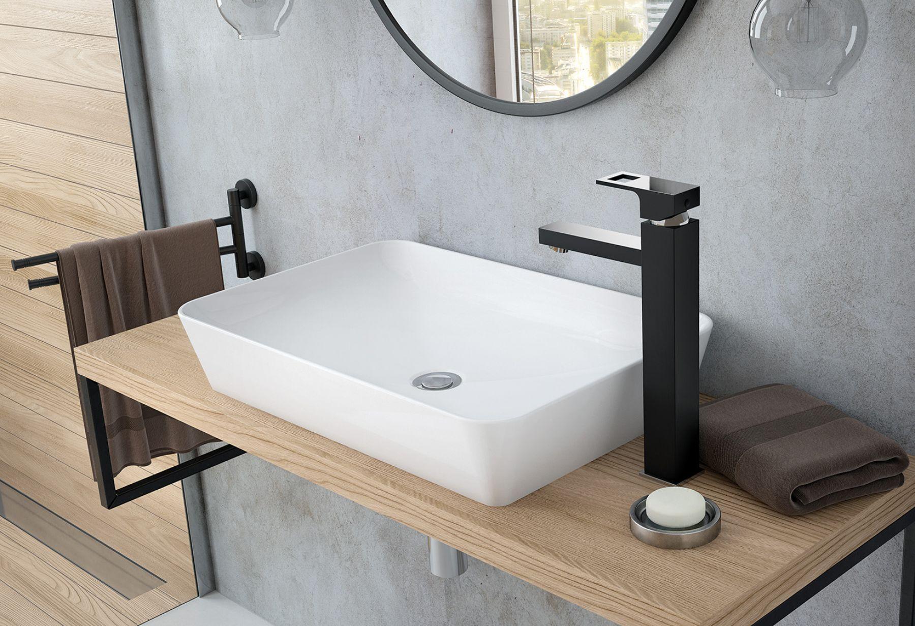 Badewannen Armatur Schwarz Chrom Design Badarmatur Bad Wasserhahn Neu