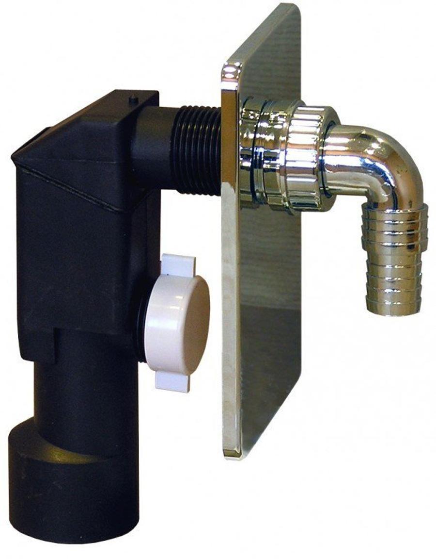 unterputz sifon abflu abwasser ablaufgarnitur siphon waschmaschine dn50 mm ebay. Black Bedroom Furniture Sets. Home Design Ideas