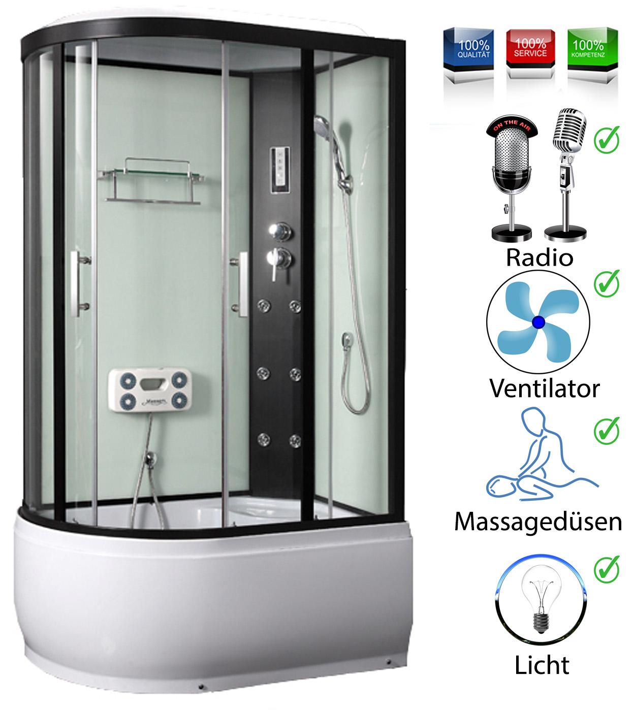 Cabine de douche pluie finie paroi baignoire re ebay for Baignoire cabine de douche integree