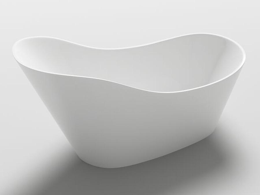 freistehende badewanne wanne design acrylwanne freistehend 1700 x 720 x 820mm v1 ebay. Black Bedroom Furniture Sets. Home Design Ideas