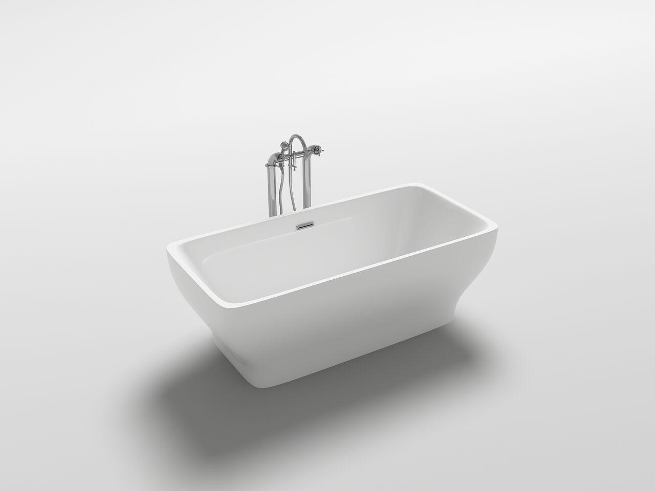 freistehende badewanne wanne design acrylwanne freistehend 1700 x 800 x 580mm co. Black Bedroom Furniture Sets. Home Design Ideas