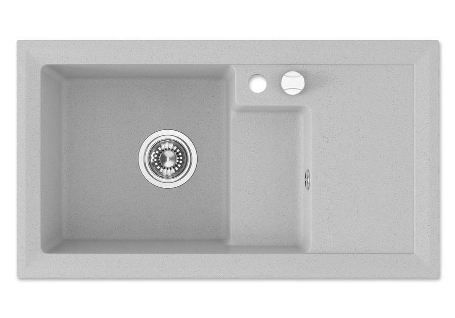 granit sp le k chensp le k chen becken sp lbecken granitsp le drehexcenter g02 ebay. Black Bedroom Furniture Sets. Home Design Ideas
