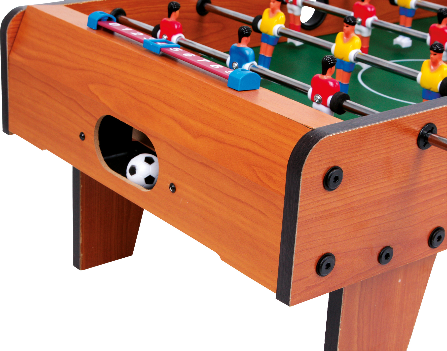tischfu ball kicker tisch tischger t aus holz fussball ca. Black Bedroom Furniture Sets. Home Design Ideas