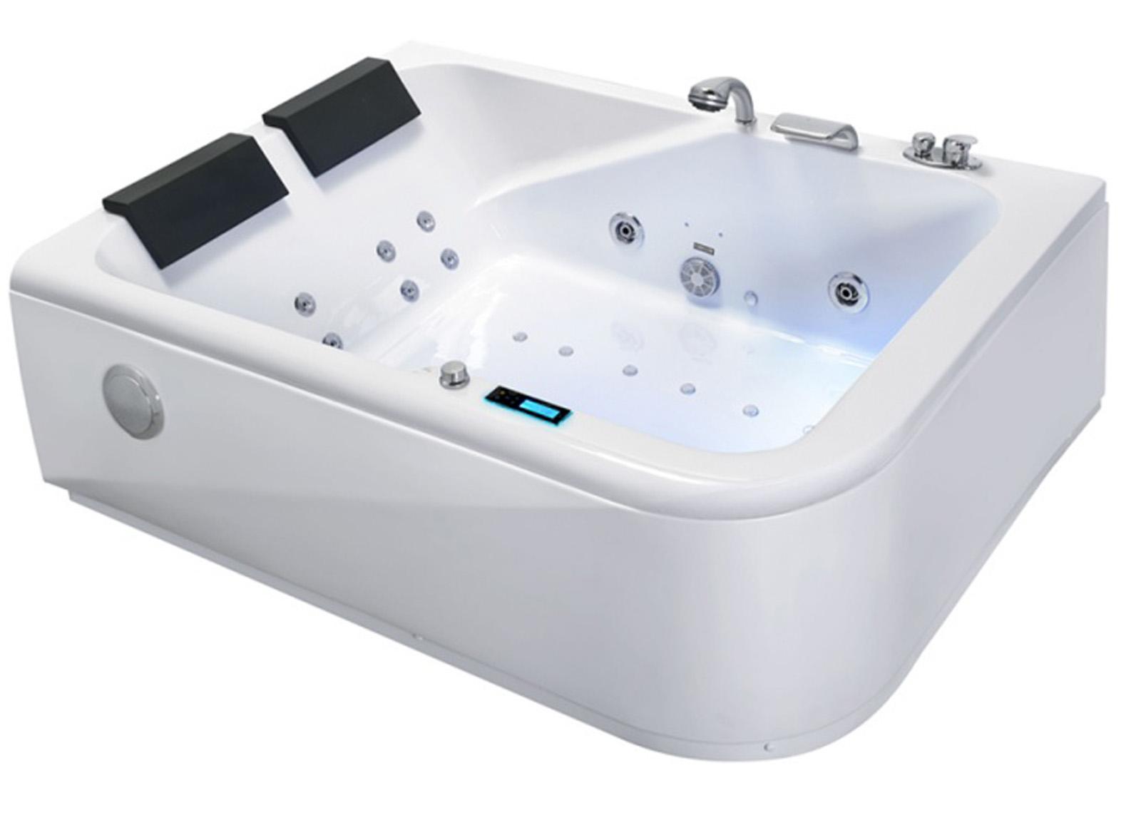 Montaggio Vasca Da Bagno Angolare : Whirlpool vasca da bagno angolare massaggio & ozono & schermo