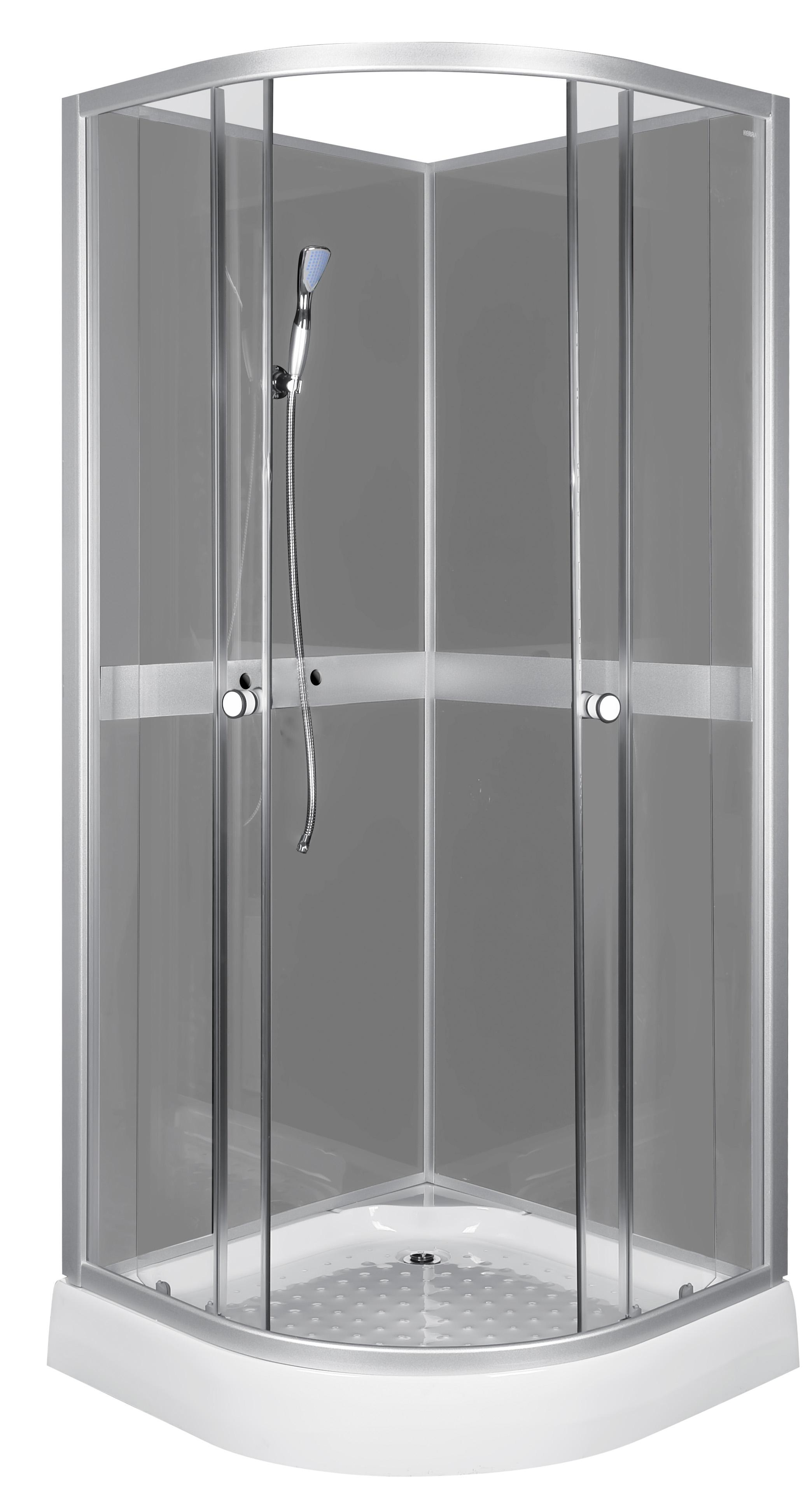 duschkabine fertigdusche dusche 80x80 duschtempel duschwand duschtasse classic ebay. Black Bedroom Furniture Sets. Home Design Ideas