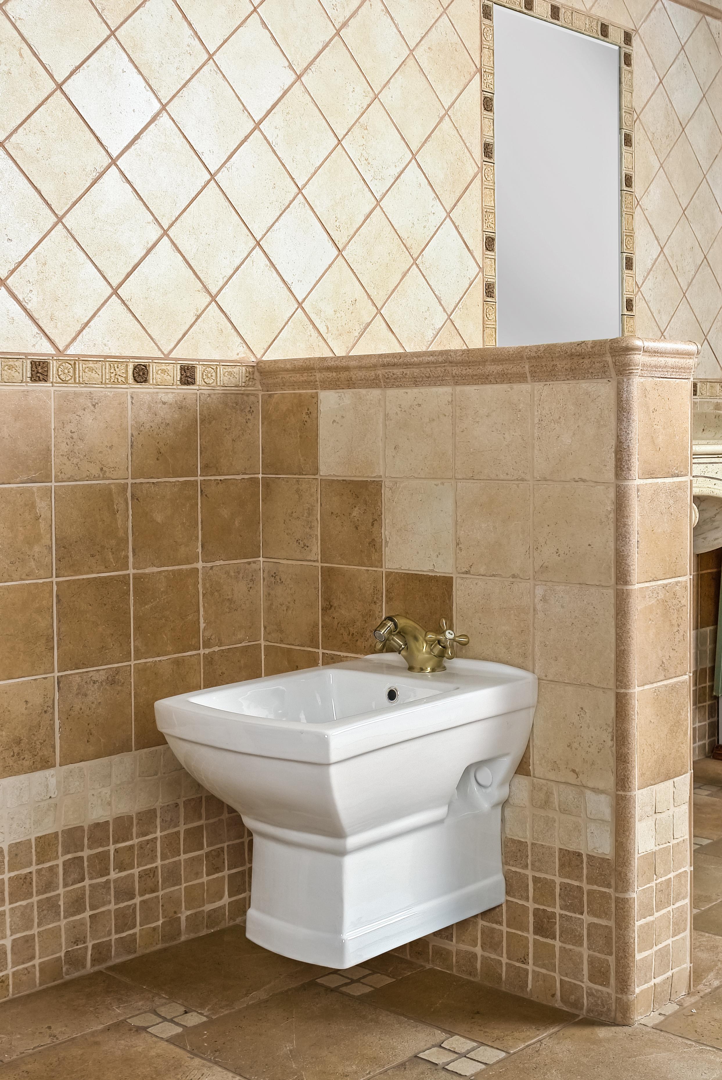 nostalgie retro wc bidet h ngebidet wandbidet wandh ngend. Black Bedroom Furniture Sets. Home Design Ideas