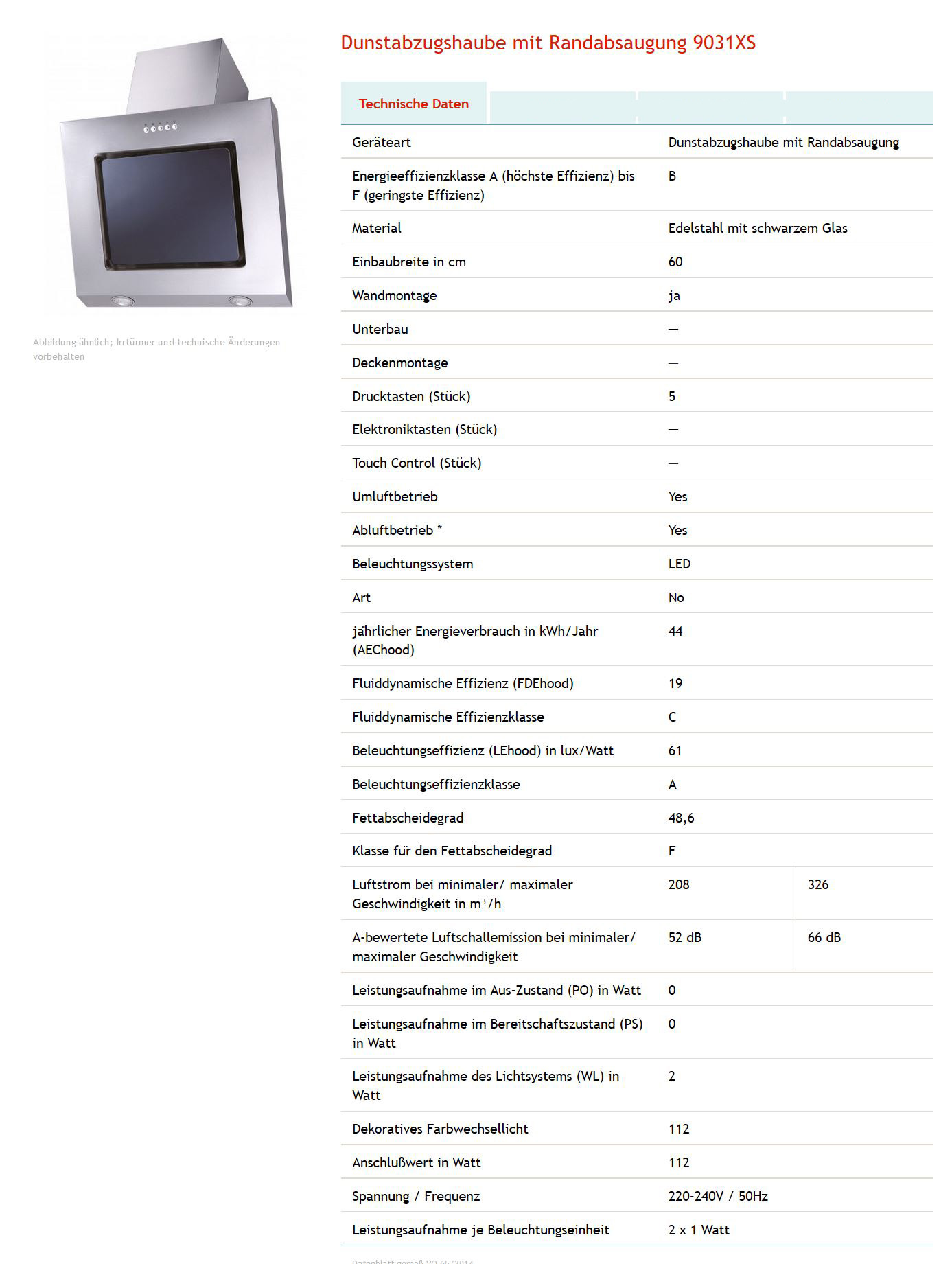 dunstabzugshaube mit randabsaugung turm abzugshaube flachschirm 60cm esse ee11 ebay. Black Bedroom Furniture Sets. Home Design Ideas