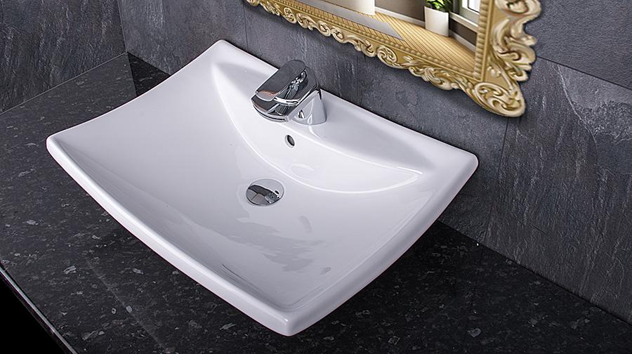 design waschschale aufsatz wandmontage waschbecken waschtisch waschplatz neu ebay. Black Bedroom Furniture Sets. Home Design Ideas