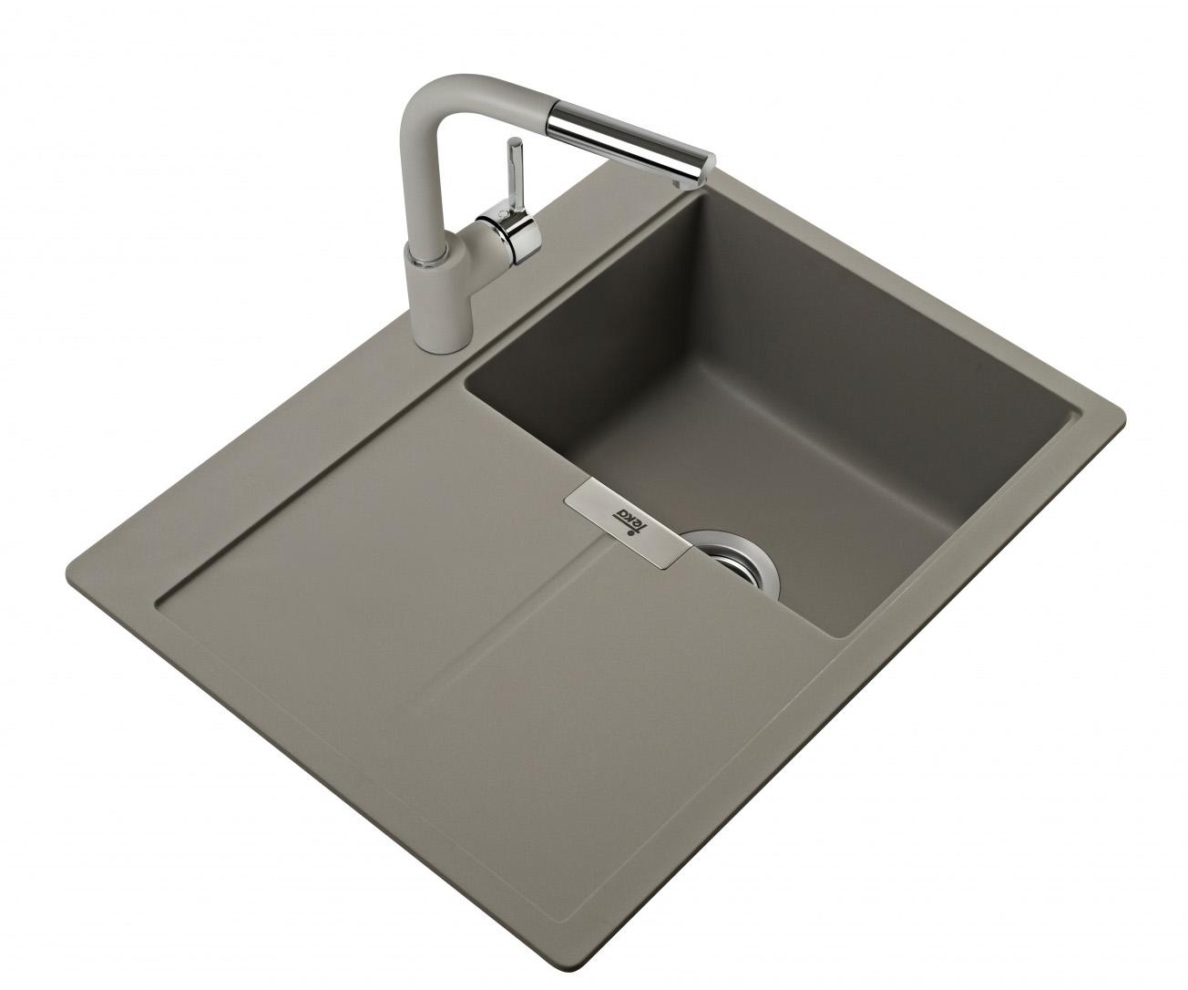 Teka Granit Einbauspüle Spüle Küchenspüle Küchen Becken Spülbecken ...