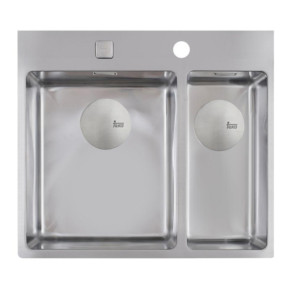 Teka Forlinea 2B 580 Edelstahl Poliert Küchenspüle Einbauspüle Spüle ...