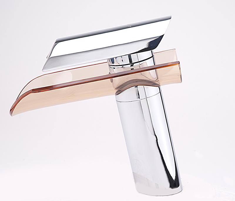 w54 waschtisch wasserfall armatur wasserhahn bad k chen glas design wasserkran. Black Bedroom Furniture Sets. Home Design Ideas