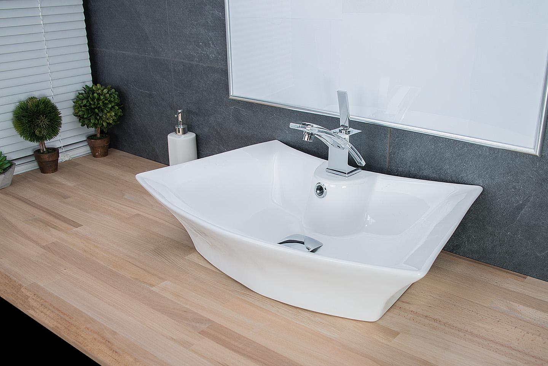 design keramik waschbecken aufsatzwaschbecken waschtisch badezimmer waschplatz ebay. Black Bedroom Furniture Sets. Home Design Ideas