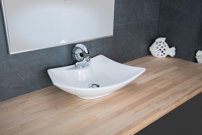 design aufsatzwaschbecken waschschale keramik waschtisch badezimmer waschplatz ebay. Black Bedroom Furniture Sets. Home Design Ideas