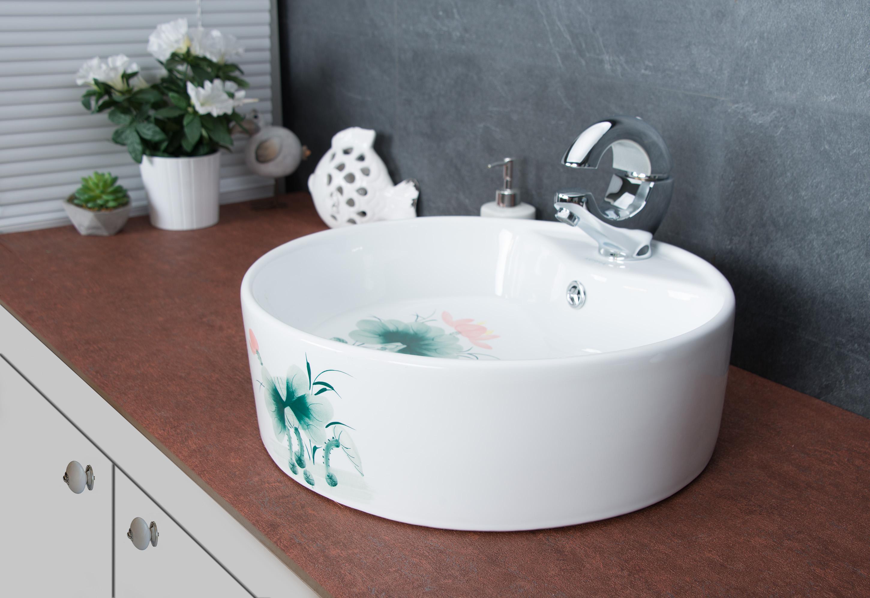 handwaschbecken aufsatzwaschbecken waschtisch waschschale. Black Bedroom Furniture Sets. Home Design Ideas
